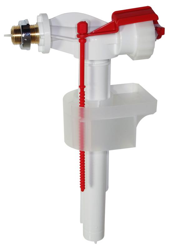 """ALCAPLAST Napouštěcí ventil boční kovový závit pro plastové nádržky A16P 3/8"""""""
