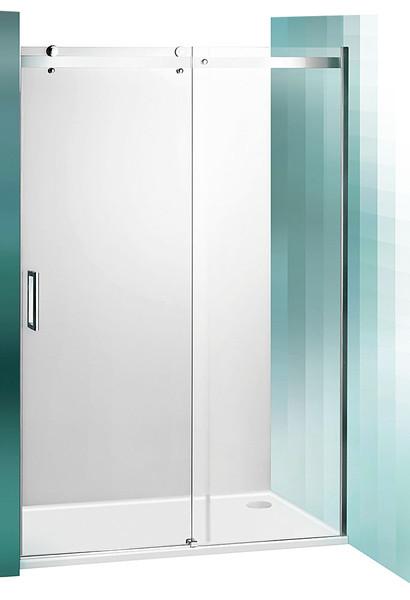 ROLTECHNIK Sprchové dveře posuvné pro instalaci do niky AMD2/1300 brillant/transparent 620-1300000-00-02