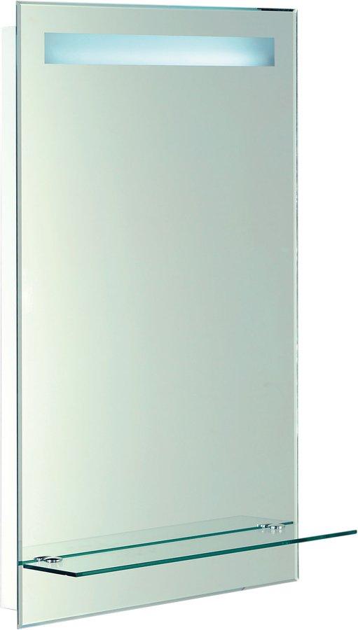 AQUALINE Zrcadlo 50x80cm, podsvícené s policí ATH12