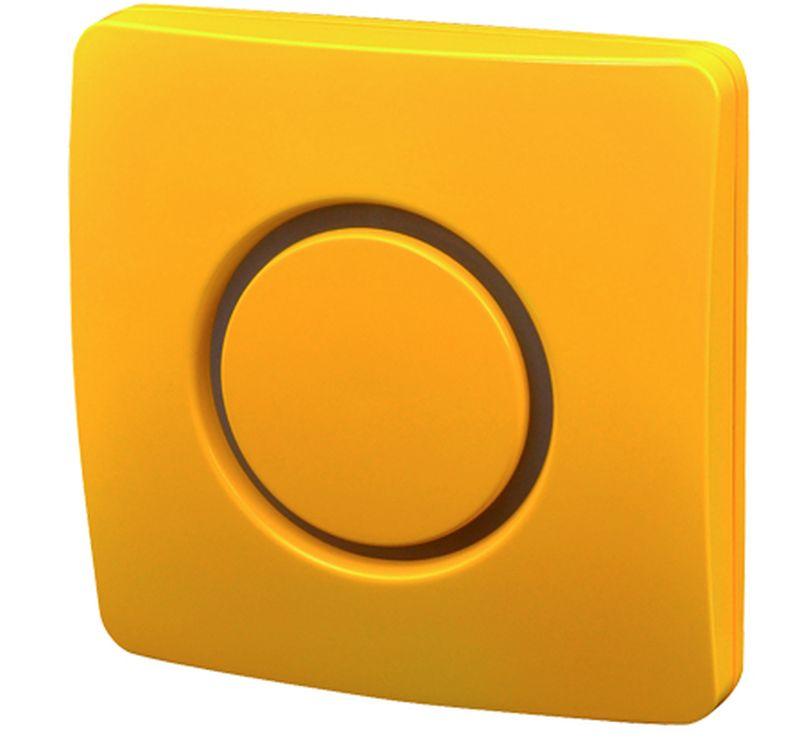 ELEKTROBOCK bezdrátový zvonek BZ10-12 žlutý 1012elb