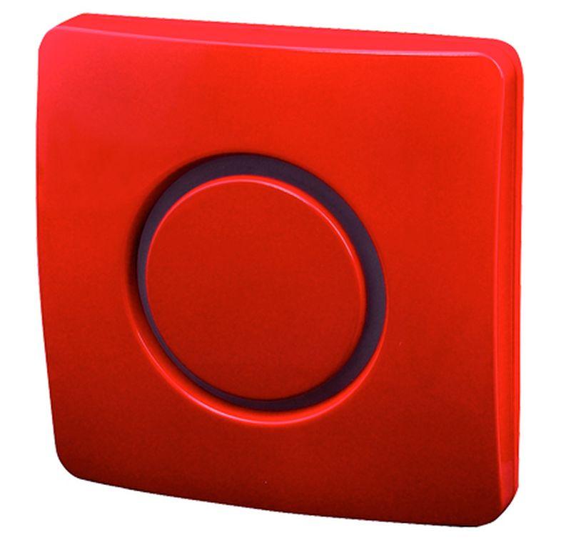 ELEKTROBOCK bezdrátový zvonek BZ10-8 vínově červený 1008elb