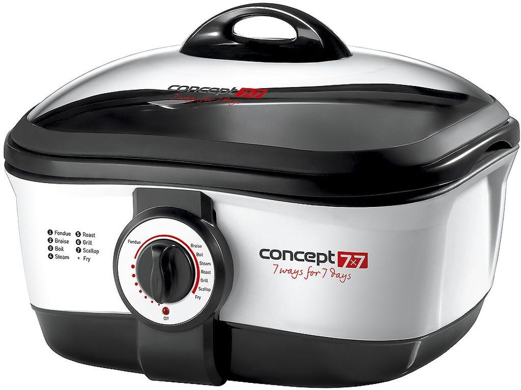 CONCEPT CK-7070 CONCEPT 7x7 Multifunkční hrnec 7 WAYS FOR DAYS ck7070