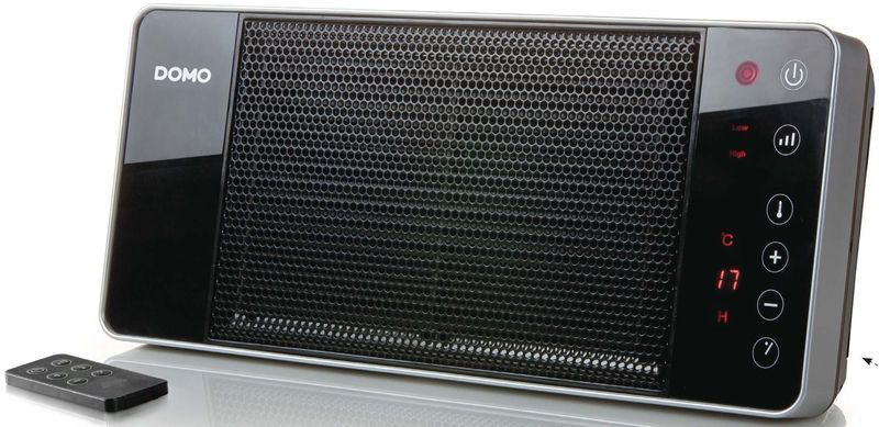 DOMO Závěsné keramické topení s ventilátorem DO7341H