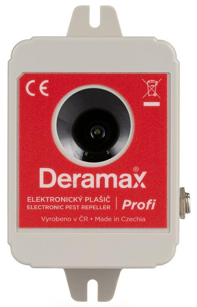 Deramax-Profi Ultrazvukový odpuzovač - plašič kun a hlodavců 0440