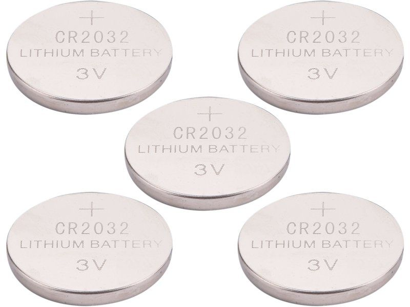 EXTOL ENERGY Lithiové baterie 3V 5ks 42050