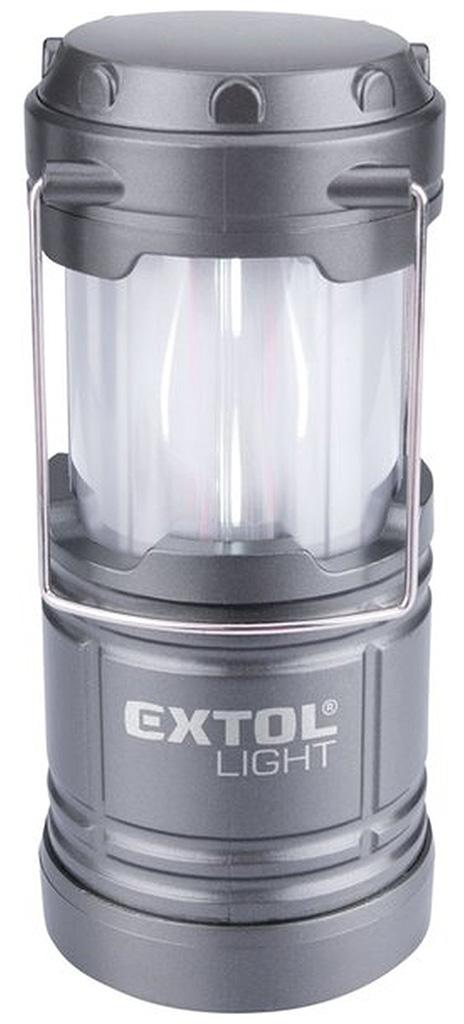 EXTOL LIGHT lucerna teleskopická LED, 75lm/plamen 43158