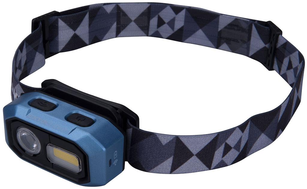 EXTOL LIGHT čelovka 480lm, nabíjecí, USB, IR čidlo, OSRAM LED+COB LED 43183