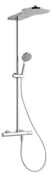 Sprchový sloup s termostatickou baterií SAPHO TRIO GL625151