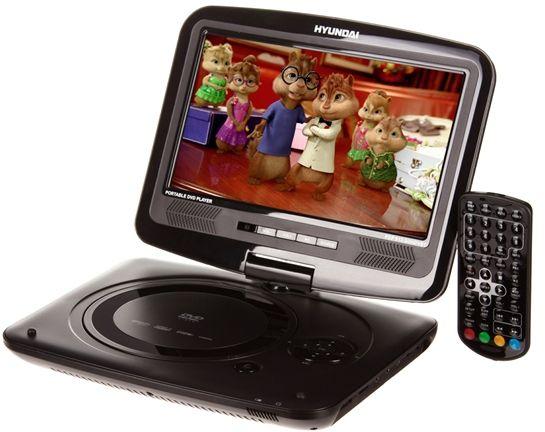 HYUNDAI PDP 913 SUHDVBT Přenosný DVD/DIVX přehrávač s MPEG4 HD DVB-T