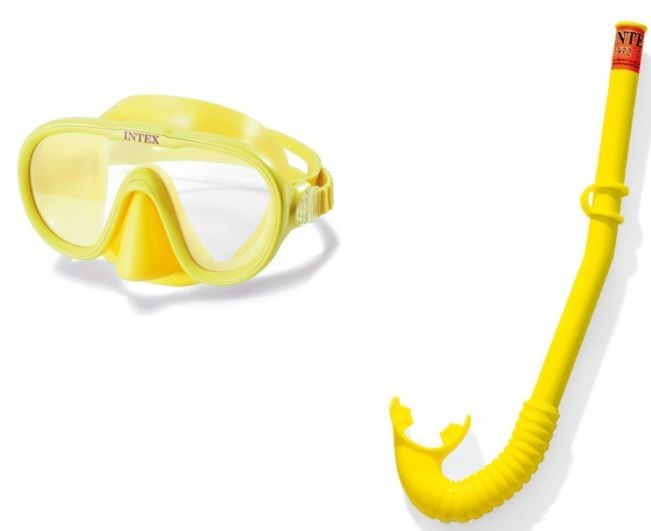 INTEX ADVENTURER Potápěčská souprava: maska a šnorchl 55642