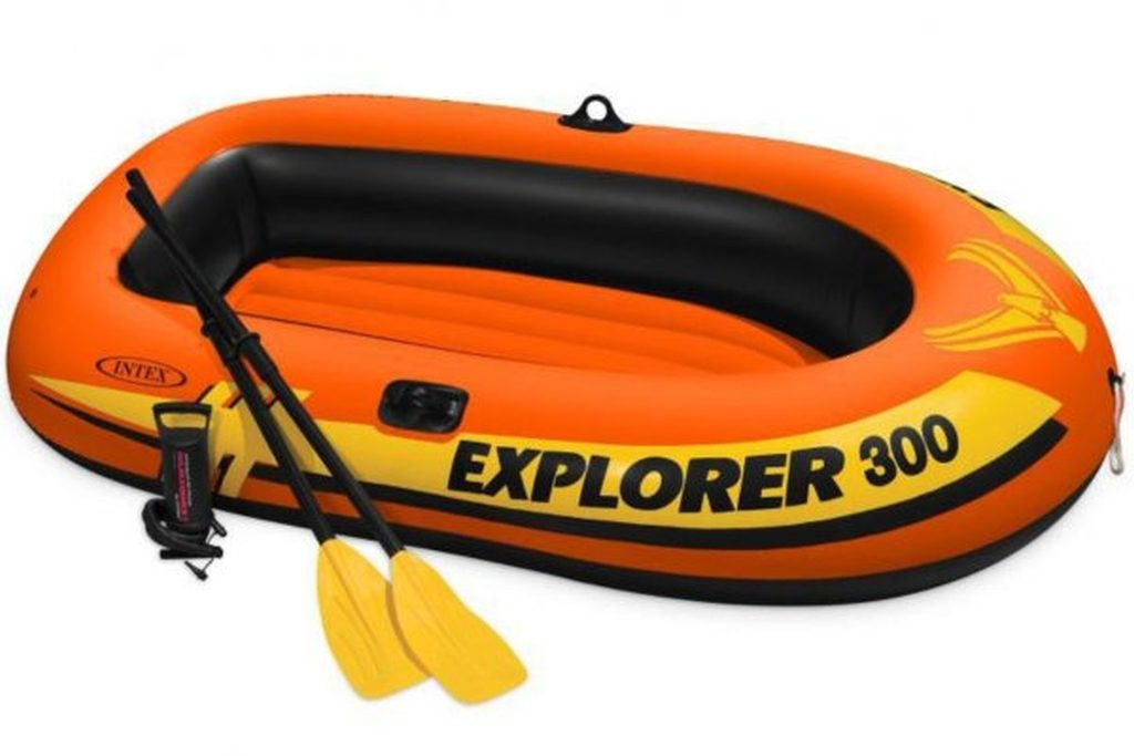 INTEX Člun Explorer 300 set 58358NP