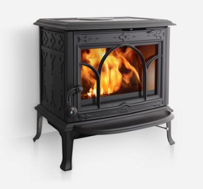 Jotul F 100 CB krbová kamna černý lak s možností spalování hnědého uhlí 350710