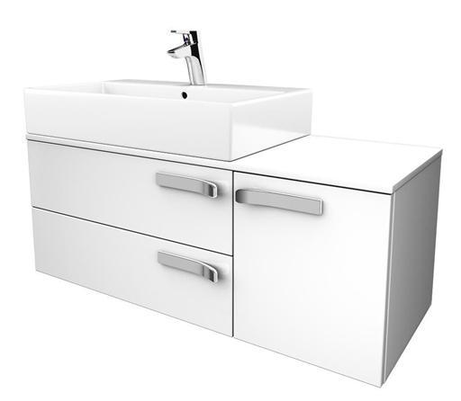 IDEAL Standard STRADA skříňka pod umyvadlo 1050 x 420 x 420 (umyvadlo vlevo) šedá K2458WH