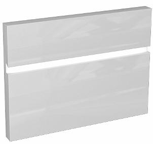 KOLO Domino čelní plocha ke skříňce se zásuvkou 50 x 37 x 37 cm, lesklá bílá 89260