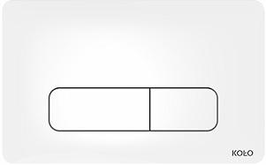 KOLO Nova Pro ovládací tlačítko pro instalační modul, bílé 94160-001