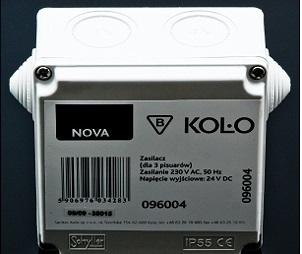KOLO Elektrický napájecí zdroj pro 1-3 pisoáry 230V/24V 96004