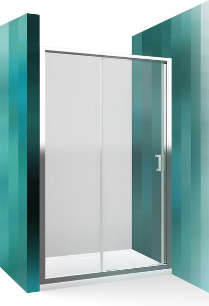 Roltechnik Sprchové dveře LLD2/1000 brillant / transparent