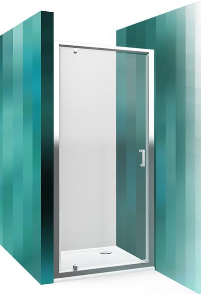 Roltechnik Sprchové dveře LLDO1/1000 brillant / transparent