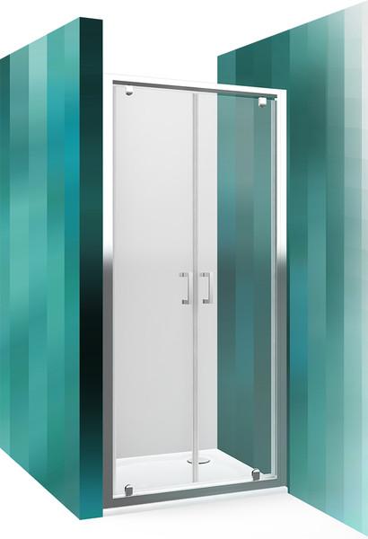 Roltechnik Sprchové dveře LLDO2/800 brillant / transparent