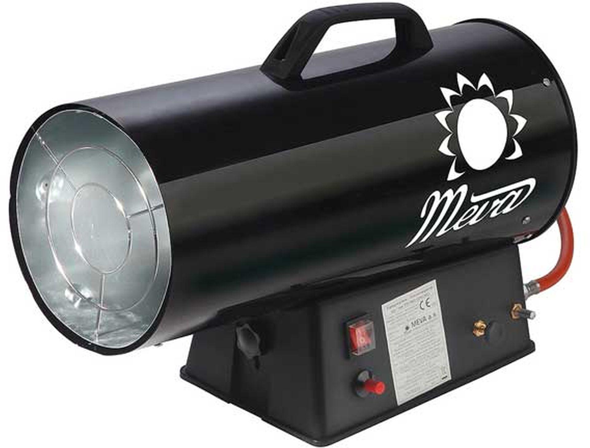 MEVA Teplogenerátor 9-30 kW s regulátorem a hadicí TP17002
