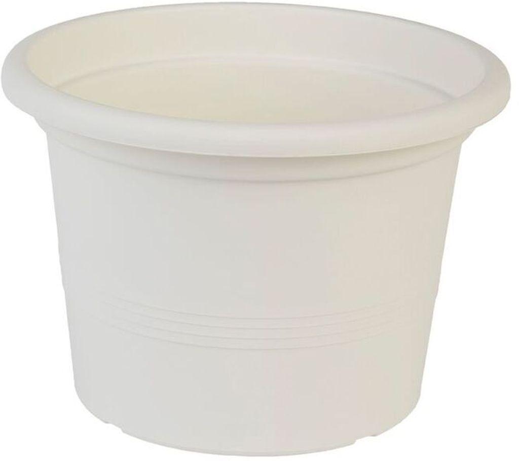 PLASTKON Květináč Campanula 50 cm bílá