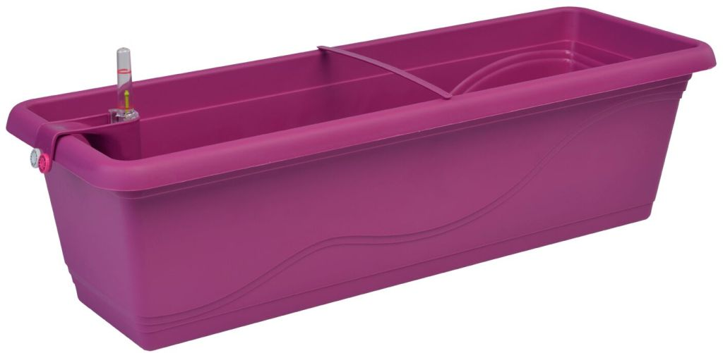 PLASTKON Samozavlažovací truhlík Smart Systém Extra Line 50 cm fuchsie