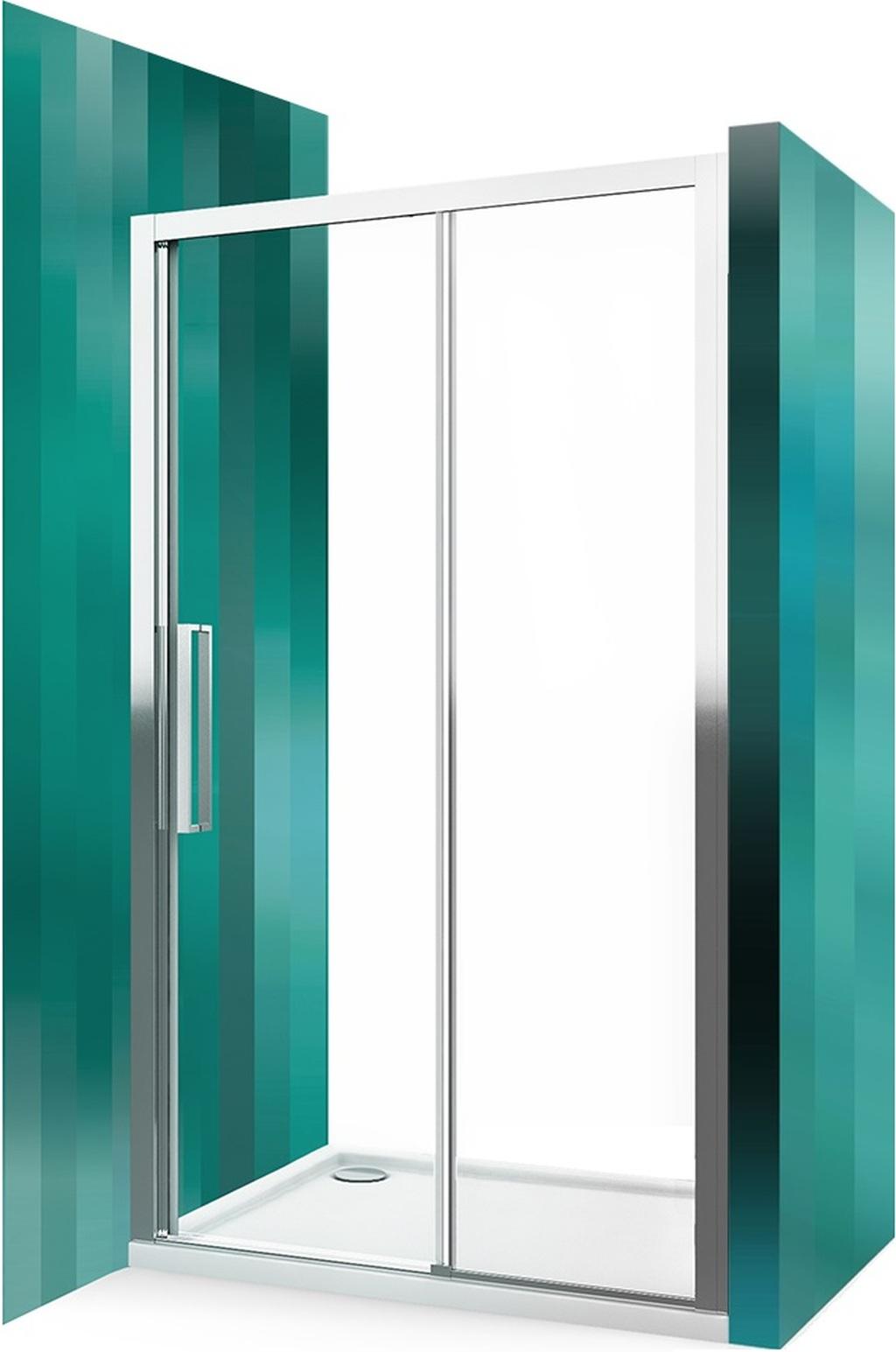 ROLTECHNIK Sprchové dveře posuvné pro instalaci do niky ECD2P/1400 brillant/transparent 565-140000P-00-02