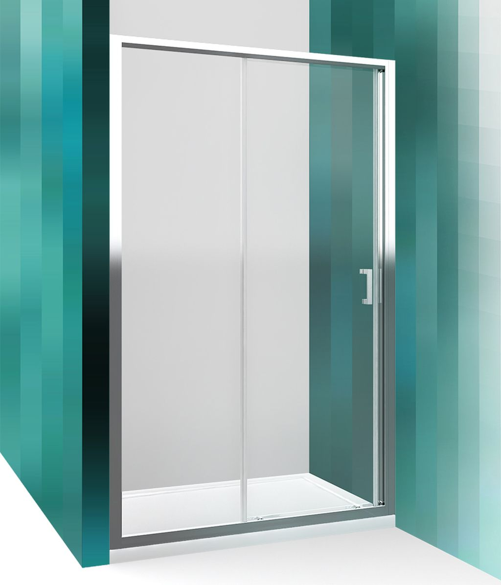 ROLTECHNIK Sprchové dveře posuvné pro instalaci do niky LLD2/1200 brillant/transparent 556-1200000-00-02