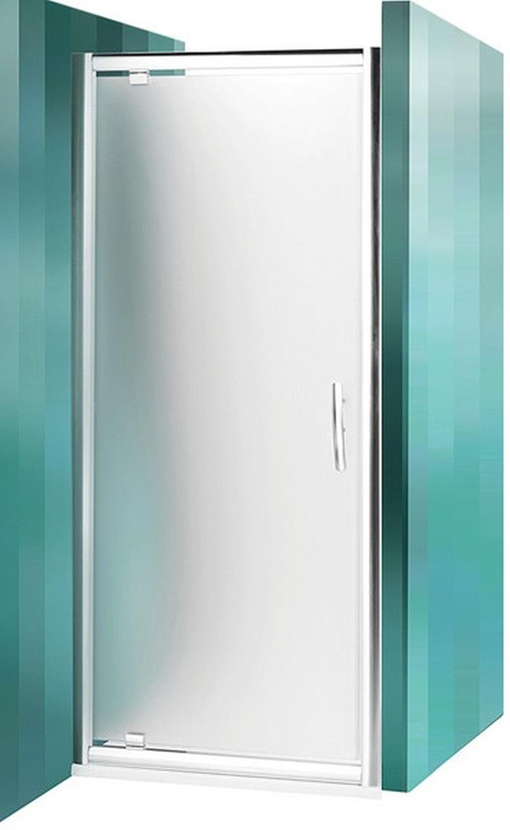 ROLTECHNIK Sprchové dveře jednokřídlé PXDO1N/900 brillant/satinato 525-9000000-00-15
