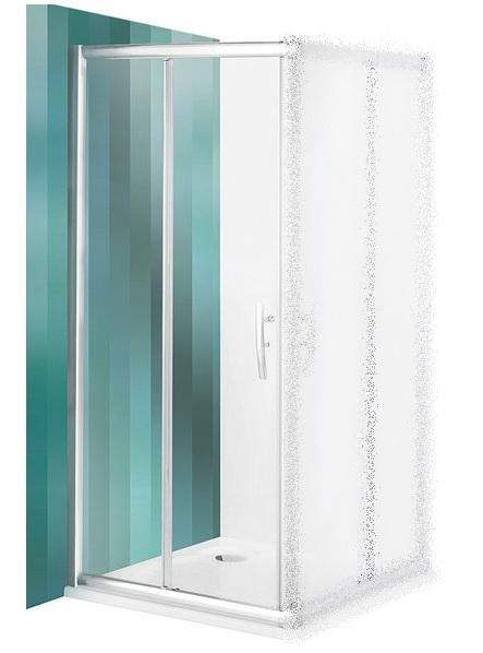 ROLTECHNIK Sprchové dveře posuvné PXS2L/1000 brillant/satinato 537-1000000-00-15