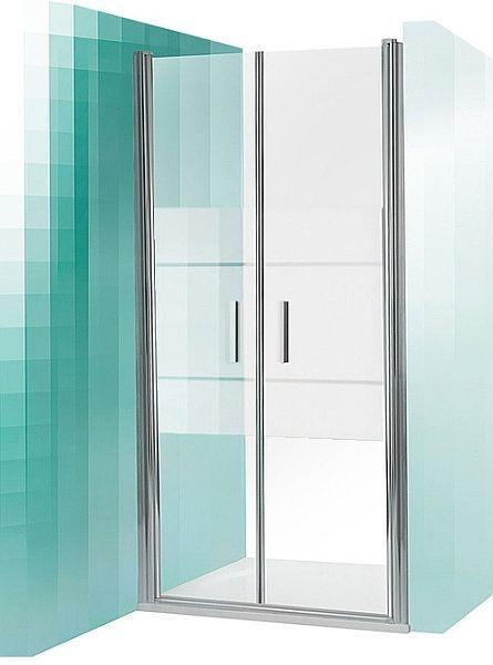 ROLTECHNIK Sprchové dveře dvoukřídlé do niky TCN2/1000 brillant/intimglass 731-1000000-00-20