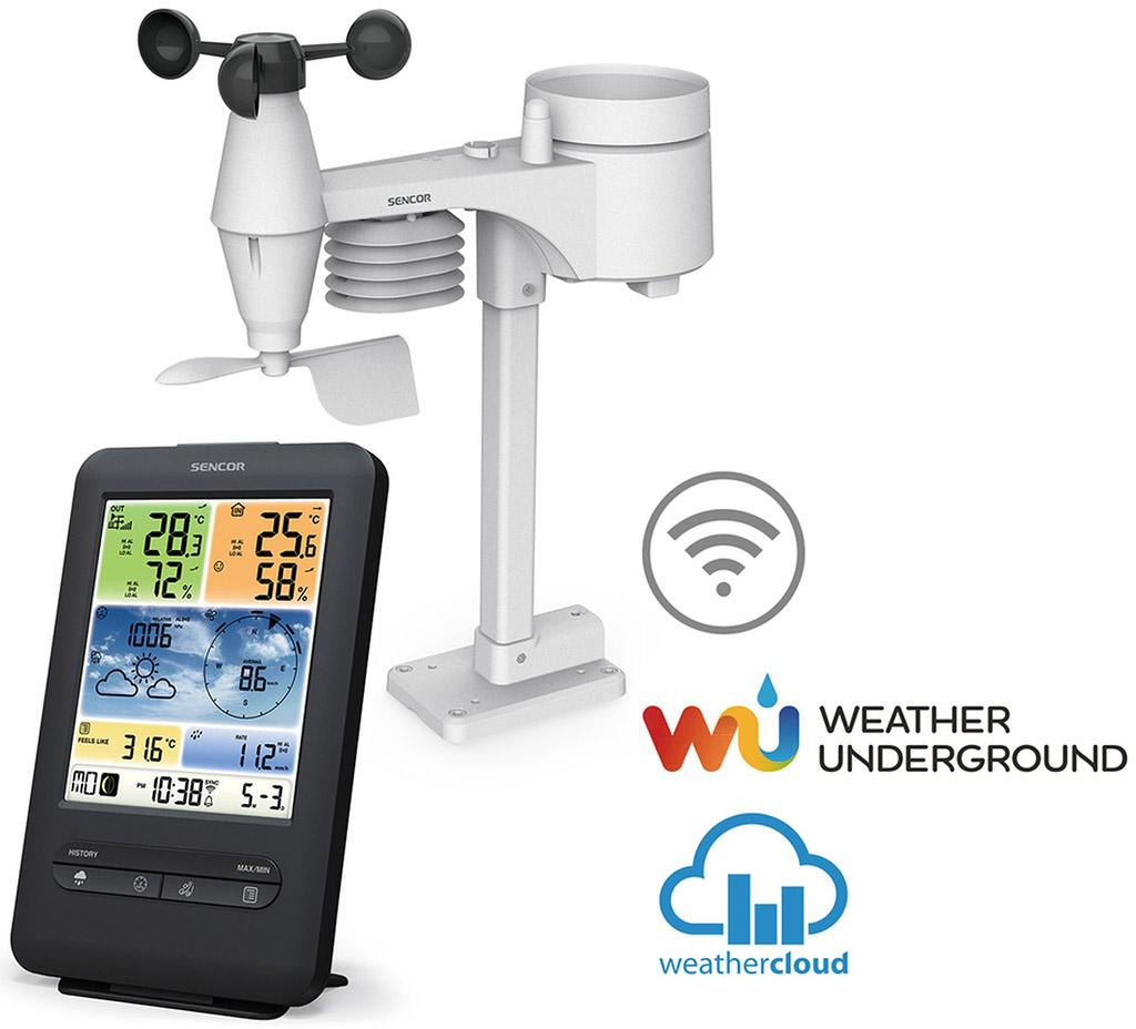 SENCOR SWS 9898 WiFi Meteostanice 35054085