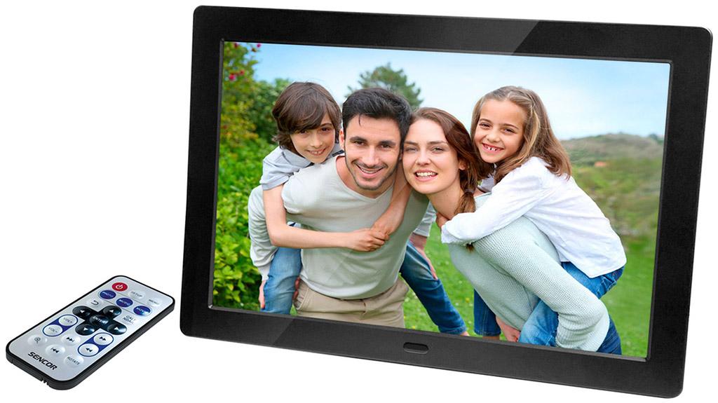 SENCOR SDF 874 B Digitální fotorámeček 35054695