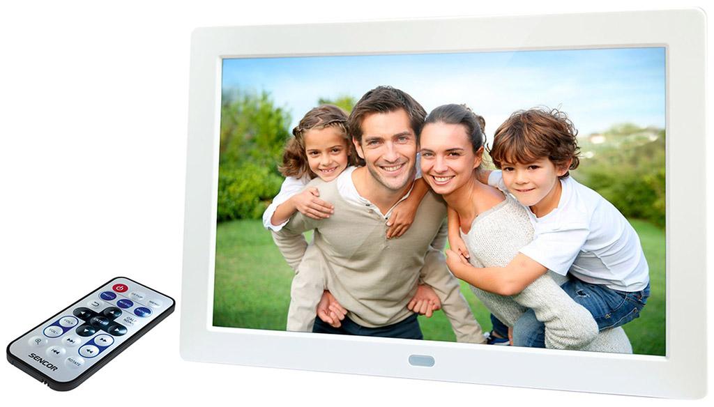 SENCOR SDF 874 W Digitální fotorámeček 35054696