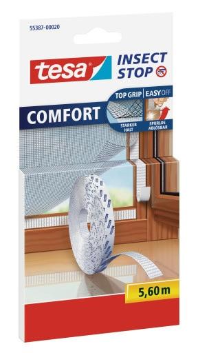 TESA Insect Stop Náhradní role suchého zipu Pro sítě COMFORT, 55387-00020-00