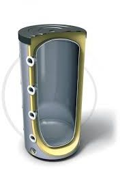 TESY nízkotlaká akumulační nádrž s izolací, 1000l
