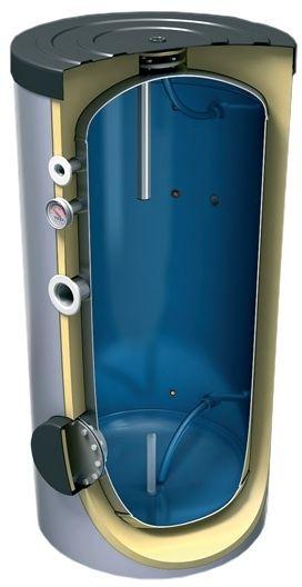 TESY vysokotlaká akumulační nádrž, s izolací, 1000l