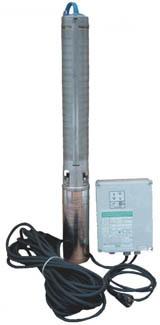 """WILO TWI 4""""-0218 DM celonerezové ponorné čerpadlo,kabel 30 m, el.skříň 2865140"""