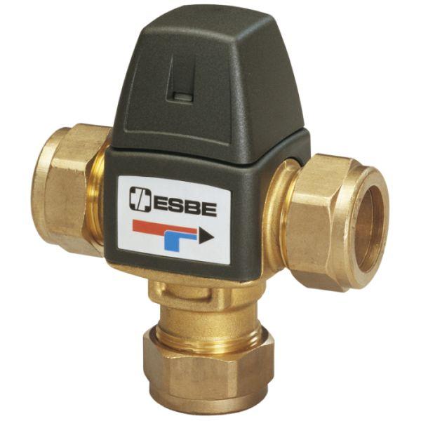 ESBE VTA 323 směšovací ventil, 20-43°C, CPF 22 mm, Kvs 1,5 m3/hod 31100100