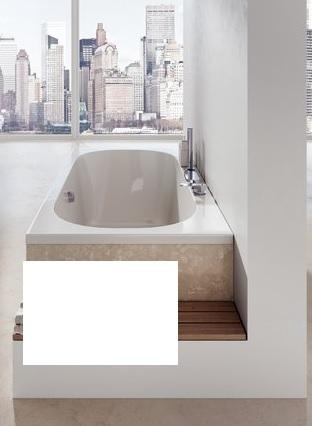 RAVAK Panel boční 80 L bílá X000001062
