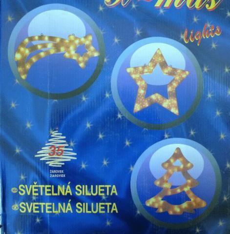Vánoční SILUETA - STROM VS141