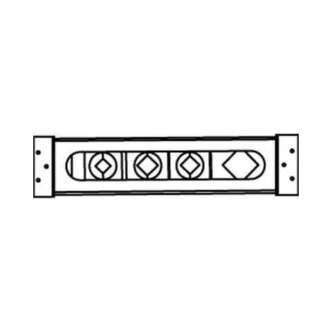 IDEAL Standard montážní deska pro instalaci vanové armatury na okraj vany A1009NU