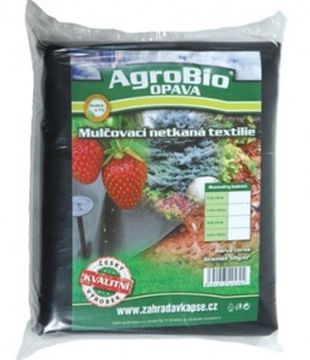 AgroBio netkaná textilie 3,2x5 m, černá