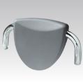 Podhlavník AH09 CLAUDIA stříbrno šedá