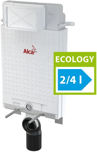 ALCAPLAST Alcamodul předstěnový instalační systém pro zazdění Ecology A100/1000E