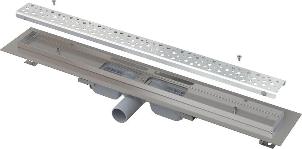 ALCAPLAST Antivandal Low podlahový žlab 750 mm s roštem, mat APZ111-750M