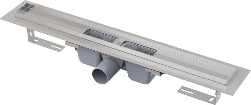 ALCAPLAST Podlahový žlab s okrajem pro perforovaný rošt APZ1-750