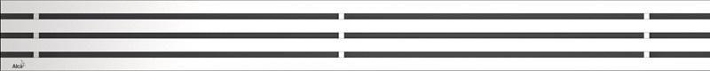 ALCAPLAST GAP Rošt pro liniový podlahový žlab 750mm, nerez-mat GAP-750M