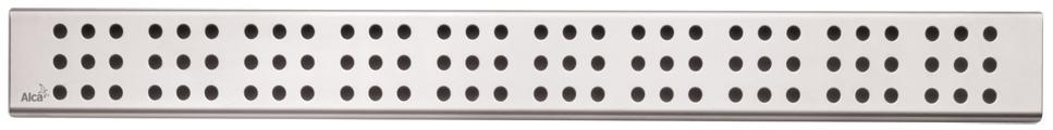 ALCAPLAST CUBE Rošt pro liniový podlahový žlab 750mm, nerez mat CUBE-750M