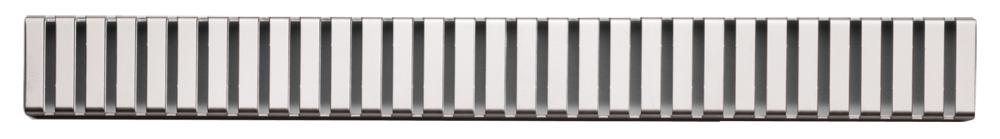 ALCAPLAST LINE Rošt pro liniový podlahový žlab 750mm, nerez mat LINE-750M